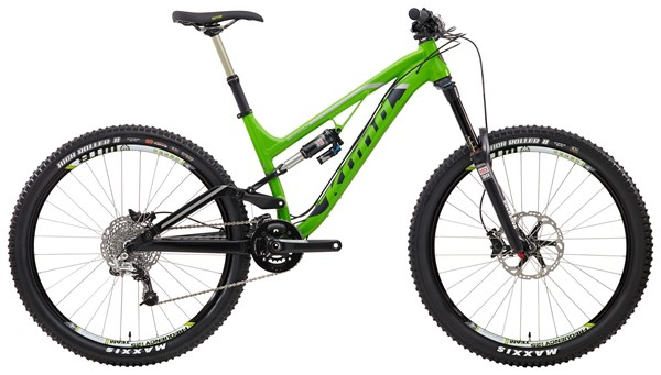 Picture of Kona Process 153 DL (Deluxe) Enduro Bike 2014